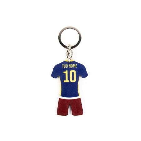 Portachiavi personalizzato calcio