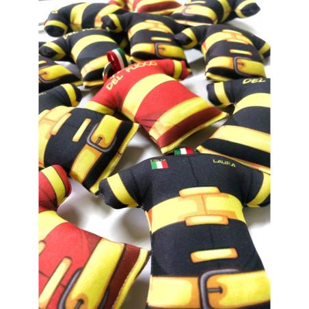 Portachiavi Vigile del fuoco maglia in tessuto imbottito
