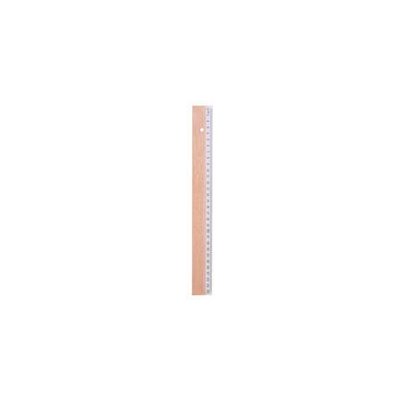 Righello Woody 30 cm in legno