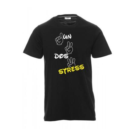 T-shirt con frase