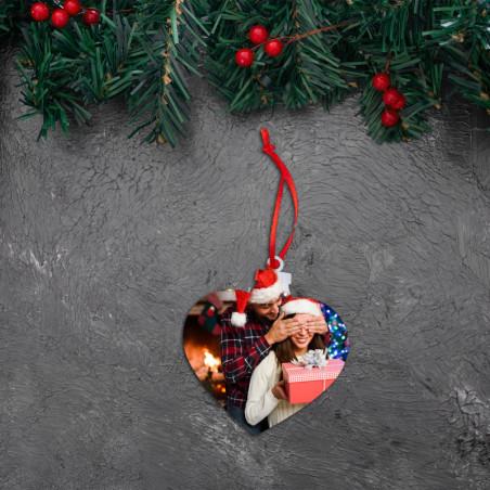 Addobbi natalizi personalizzati con foto